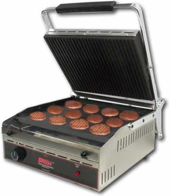 Plancha para cocinar hamburguesas